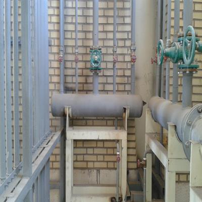 پروژه اجرای عملیات تاسیسات مکانیکی سایت جدید شرکت عایق های الکتریکی پارس