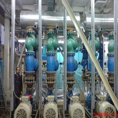 پروژه اجرای عملیات تهیه و نصب تاسیسات مکانیکی و اطفاء حریق سالن توسعه موتورسازی 3 (ماشینکاری 250000 دستگاه) شرکت ایران خودرو