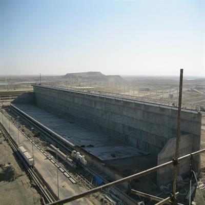 عملیات تکمیلی طرح دانه بندی گوگرد پالایشگاه گاز شهید هاشمی نژاد
